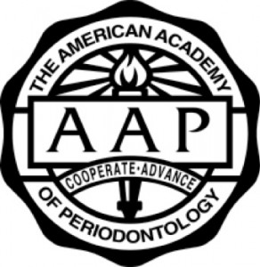 Logo for the American Academy of Periodontology